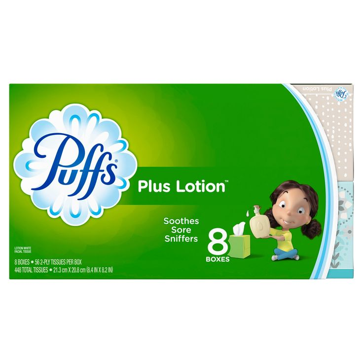 Puffs Plus Lotion Facial Tissues - 448ct