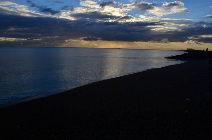 Magical sunset - Brighton [England trip]