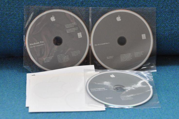 Mac OS X Tiger install discs 10.4.1