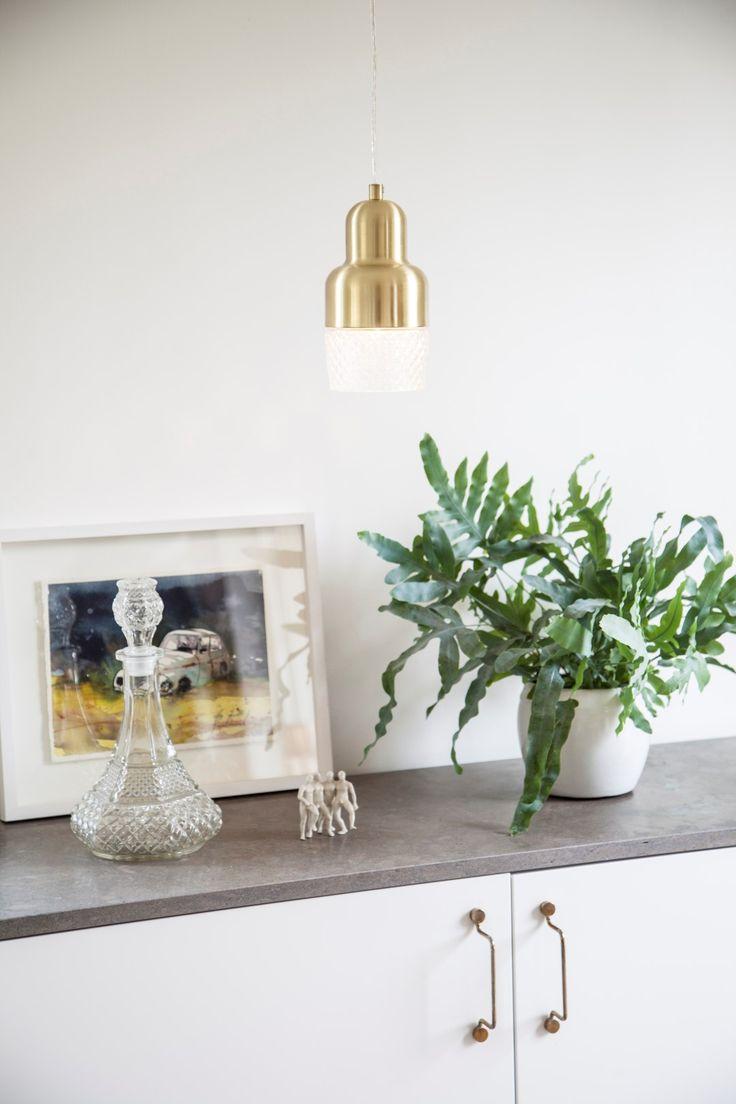 Mini Brass metal pendant light fixture with a glass shade Colon. Click for detailed info  #sessak #lighting #sisustus #valaisin #new #newin #pöytävalaisin #interior #inredning #interior #Vintage