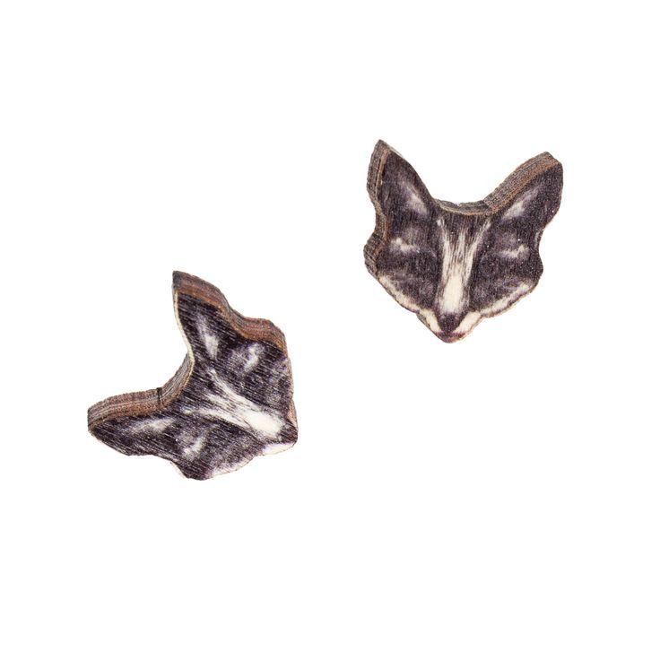 The Fox stud earrings // The Fox nappikorvakorut