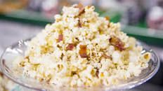 Maple-Bacon Popcorn Recipe | Ayesha Curry | Food Network