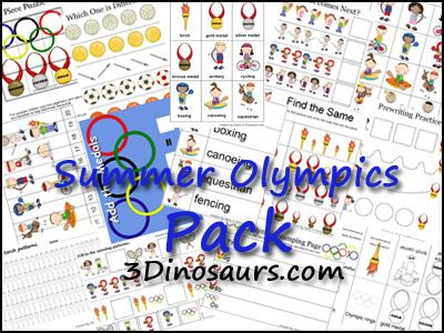 Summer Olympics Printables