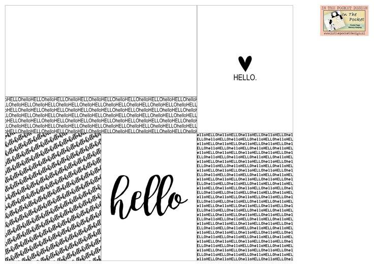 Hello - Freebie In The Pocket Design