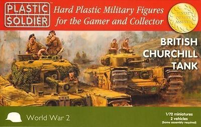 #Plastic #soldier company 1/72 #british churchill tank x 2 ww2v20017 - ww2,  View more on the LINK: http://www.zeppy.io/product/gb/2/371681425655/