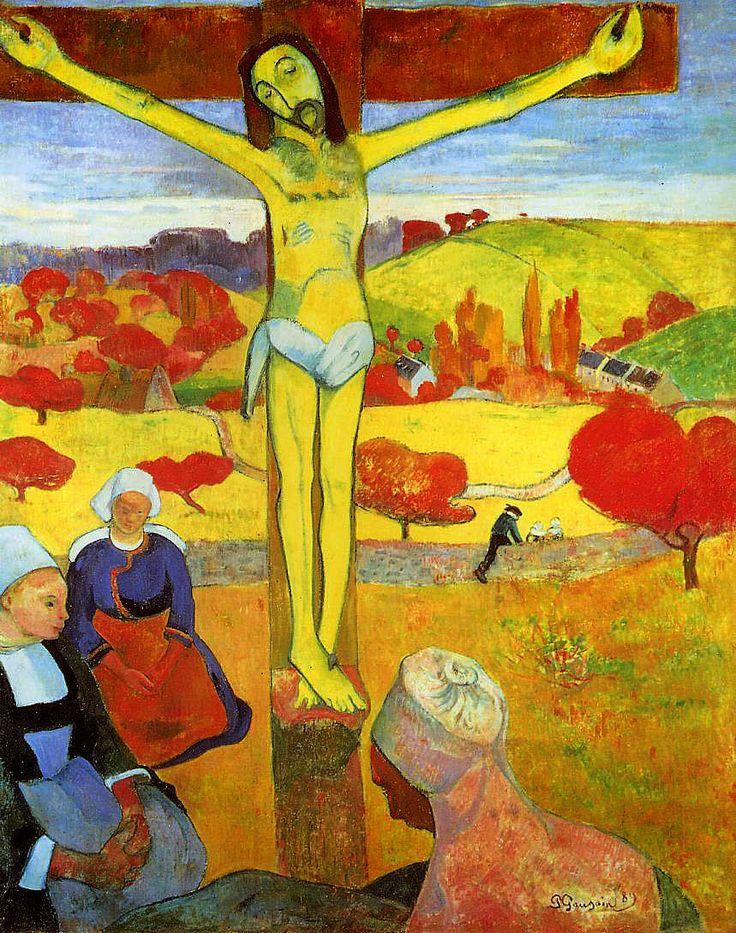 Поль Гоген «Желтый Христос»