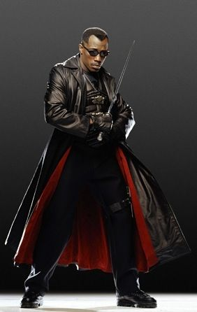 BLADE!  loving Wesley in the Blade trilogy!