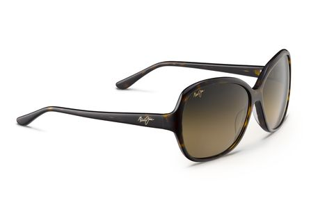 Maui Jim - Maile - Black With Crystal Frame-Maui Rose Polarized Lenses   Maile features a feminine, modern shape with MauiGradient ® lenses for a  stylish ... ae31712dfdb9