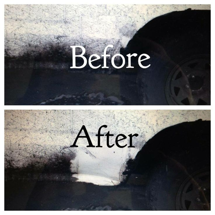 how to clean tar from car carpet