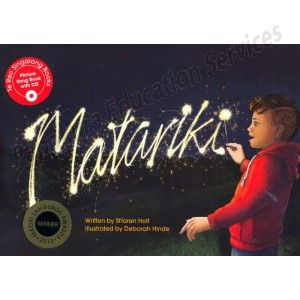 Matariki Te Reo Singalong Book by Sharon Holt | Papakura Education Services