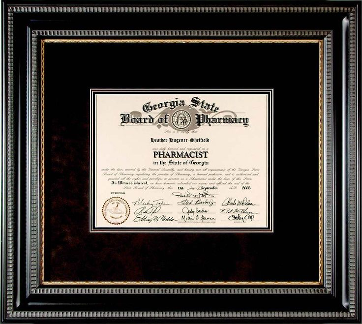 Diploma Framing