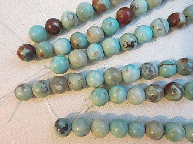 """8MM MILKY WHITE AGATE GEMSTONE FACETED ROUND LOOSE BEADS 14.5/"""""""