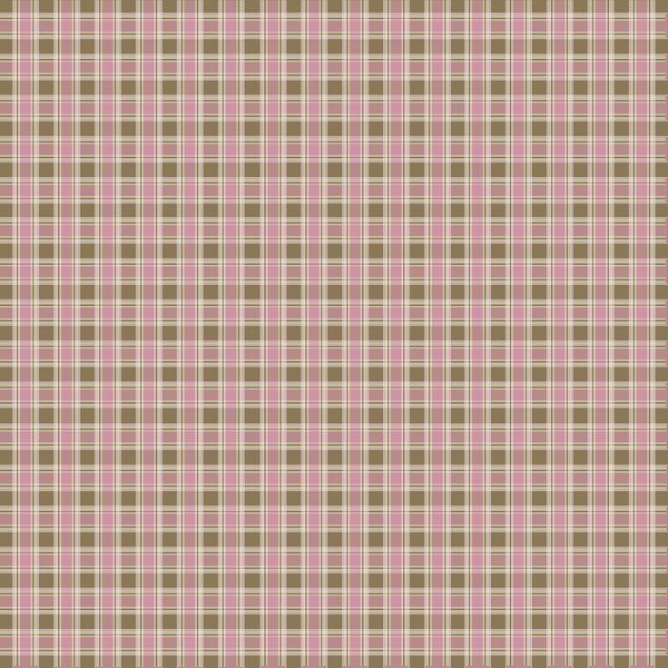 Granny Enchanted's Paper Directory: Free Pink Brown Plaid 2 Digi Scrapbook Paper