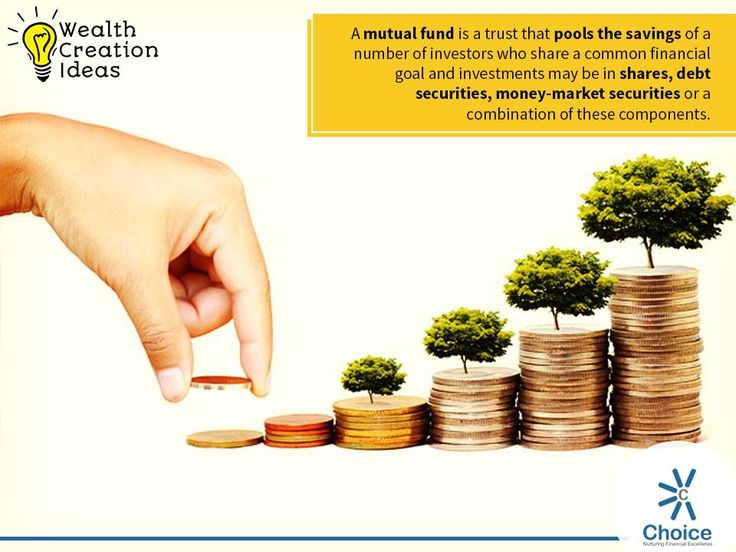 "Wealth Creation Ideas : A mutual fund is a professionally managed investment fund that pools money from many investors to purchase securities. While there is no legal definition of the term ""Mutual Fund"", it is most commonly applied only to those collective investment vehicles that are regulated and sold to the general public."