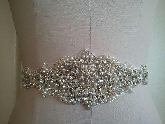 SALE  Wedding Belt Bridal Belt Sash Belt by LucyBridalBoutique, $42.00