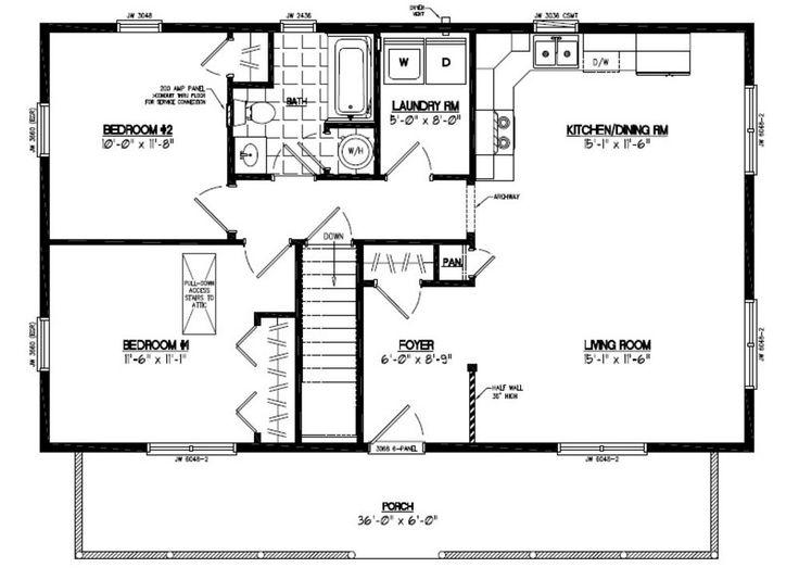 26 X 40 Floor Plans - Google Search