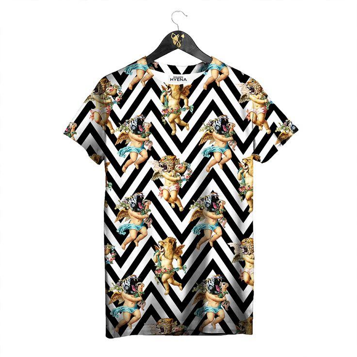 Wild Angels T-shirt by Golden Hyena #goldenhyena