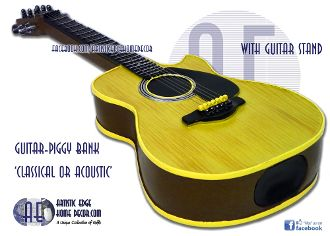 Money Bank 'Classical' or 'Acoustic' Guitar