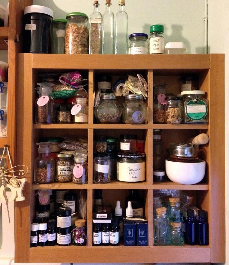 Herbs Witch S Herb Shelves Pagan Pinterest