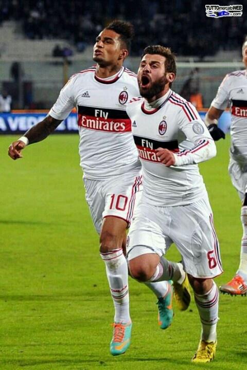 Boateng e Nocerino. Catania Milan 1-3