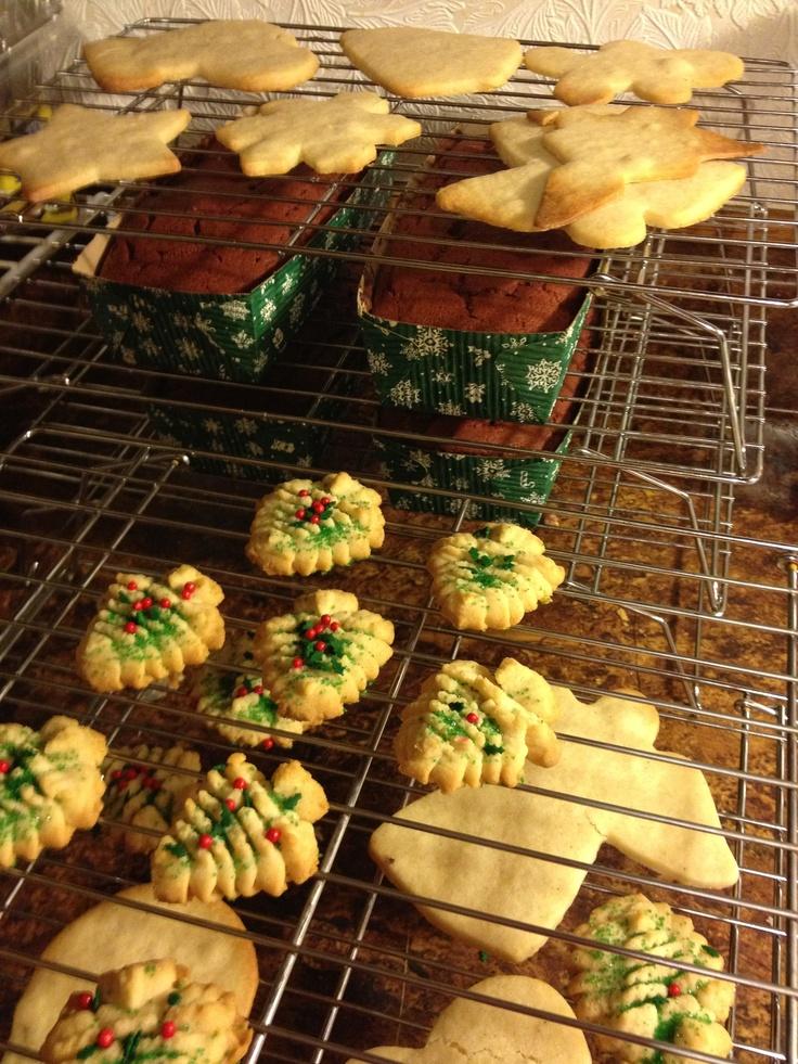 Baking for Christmas!