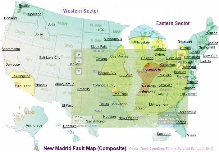 united states fault lines maps | United States Geological Survey | Family Survival Protocol - Microcosm ...