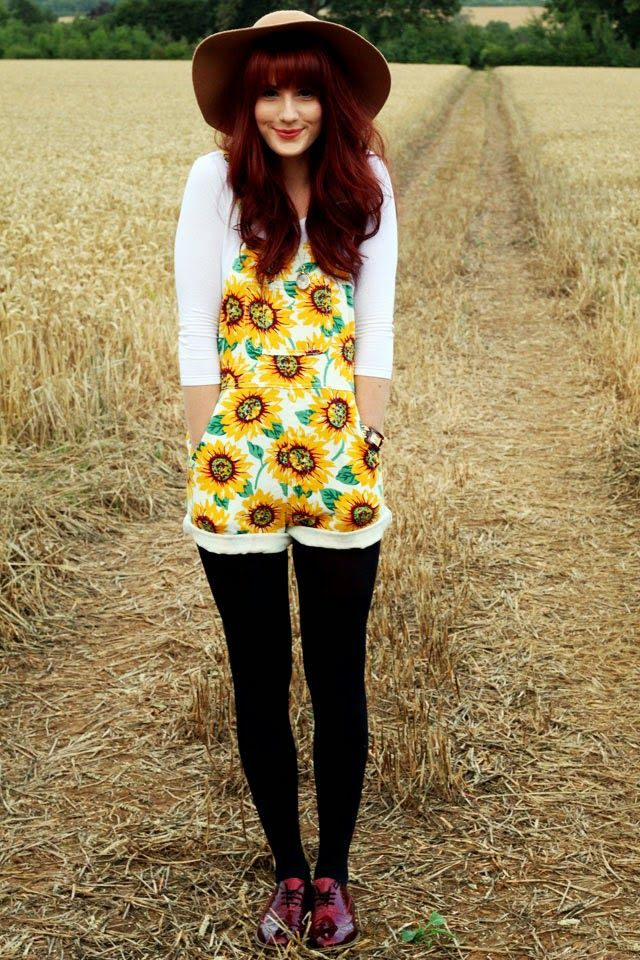 Sunflowers Overalls!