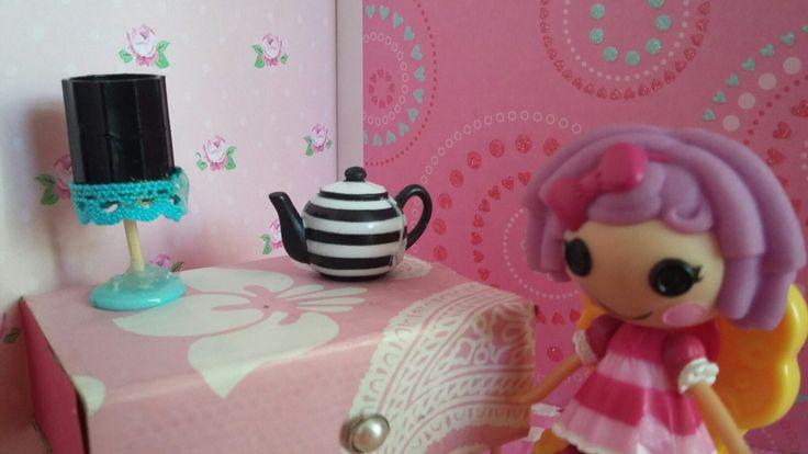 Uma mesinha para beber o chá mais delicioso