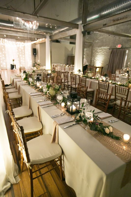 Urban, Industrial Chic Wedding at Front and Palmer in Philadelphia, PA. :: Photography by Lauren Schwartz Photography :: Florals by Papertini Floral :: Planning by Kyle Michelle Weddings ::