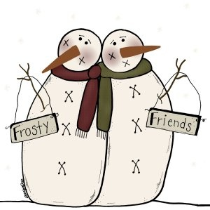 Primitive Patterns - Wool, Wood and Stitches - Snowmen - #438 (Powered by CubeCart)