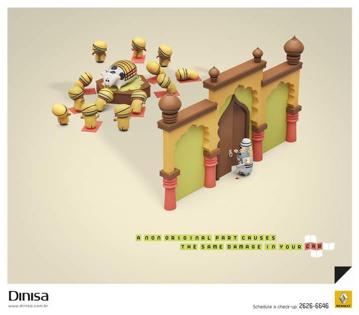 publicités designs et créatives Janvier 2013