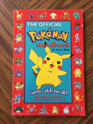 The Official Pokemon Handbook 1999 Maria S. Barbo