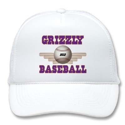 Grizzly Baseball - Lots of designs for shirts, mugs, iPad/iPhone cases and other things at zazzle.com/bradmart*