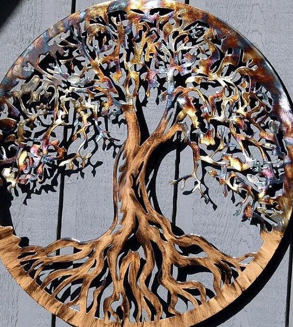 Large Metal Wall Art Tree Of Life By HumdingerDesignsEtsy On Etsy