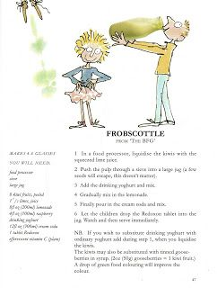 This is the Frobscottle recipe from Roald Dahl's Revolting Recipe cookbook.