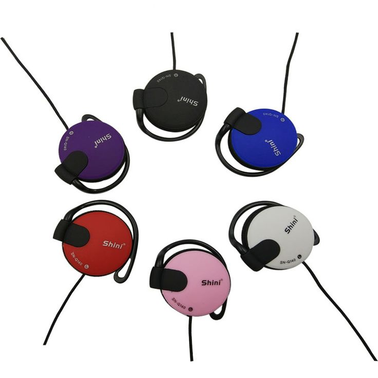 SN-Q140 Earphone 3.5mm bass Headset Ear Hook Earphone sport headphone wired earphones For Mp3 Player Computer Mobile Telephone
