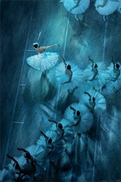 At The Ballet by Марк Олич