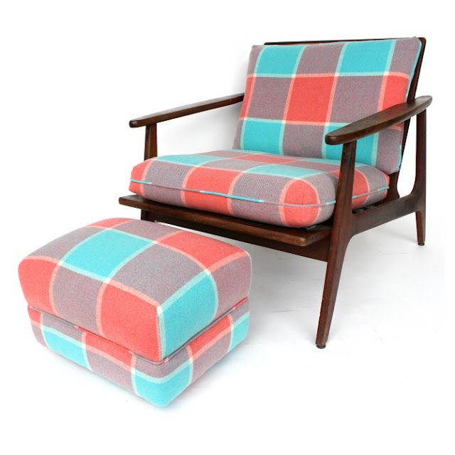 Revival creates new pieces of furniture from vintage chairs and couches   re upholstered in those iconic blankets from one of the m. 19 best Vintage blankets images on Pinterest   Wool blanket