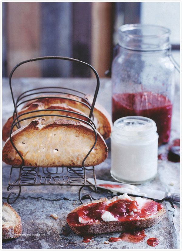 strawberry & vanilla jam