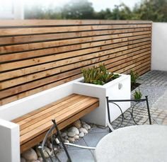 banc de jardin moderne, banc d'extérieur de jardin moderne