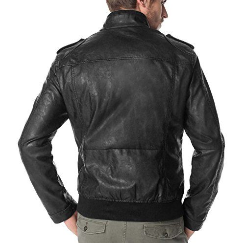 Herren Kunstlederjacke Biker Jacke Esprit schwarz Gr.52 EDC http://www.amazon.de/dp/B00TKFZRT0/ref=cm_sw_r_pi_dp_9dakvb1KM9AFC