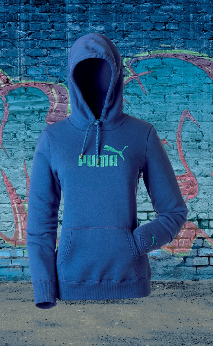 Puma ladies' embroided hoodie