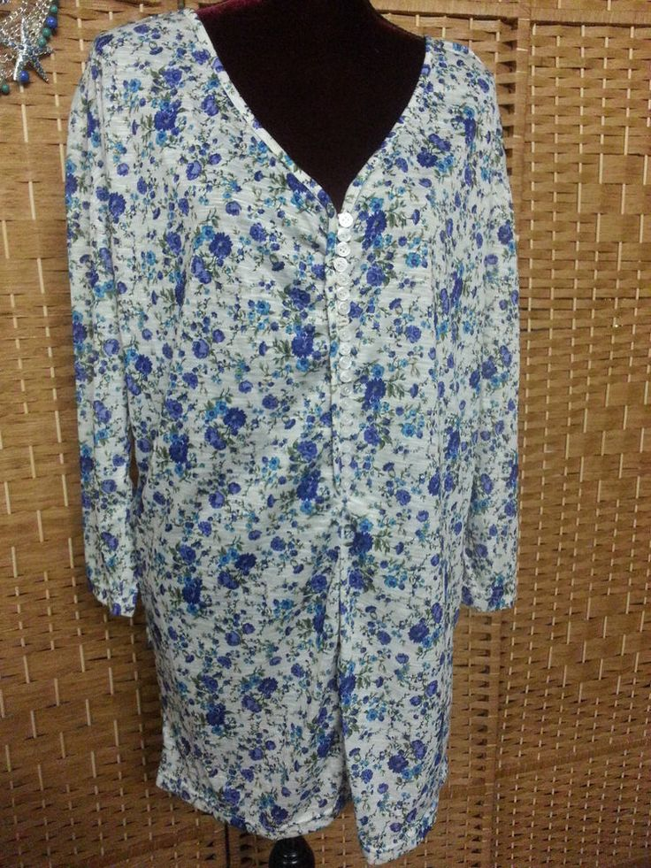 LADIES PEACE ANGEL FLORAL TUNIC DRESS - FIT APPROX UP TO SIZE 16