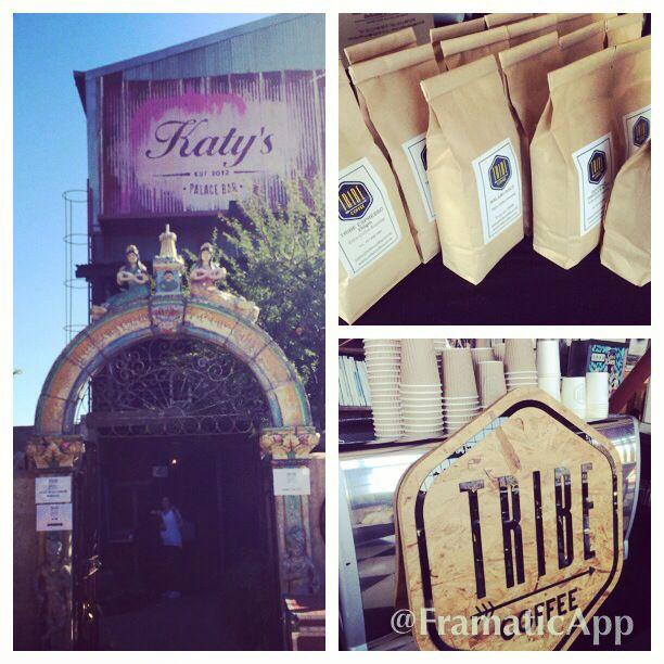House & Leisure Market at Katy's with #tribecoffee wwwtribecoffee.co.za