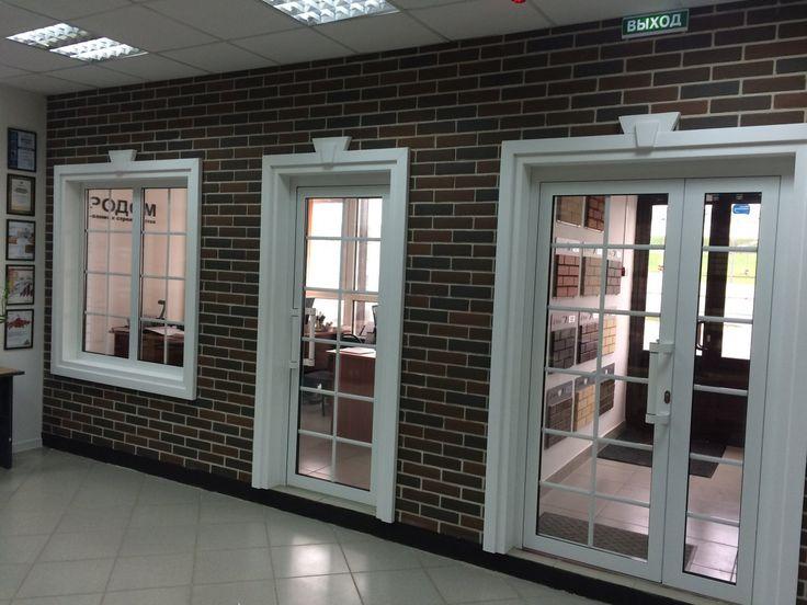 008-стена из кирпича Бавария микс, офис продаж компании Кирпичный ряд, г. Казань.jpg (1500×1125)