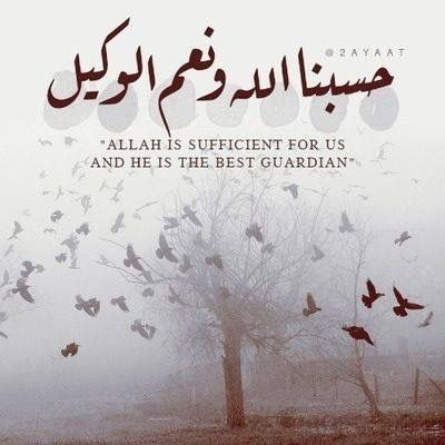 Allah is Sufficient...