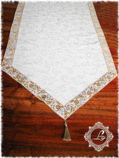 Текстиль, ковры ручной работы. Ярмарка Мастеров - ручная работа Дорожка на стол Орнамент. Handmade.