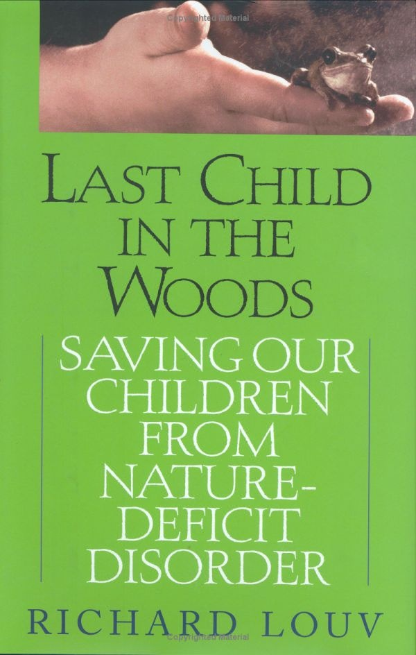 If you have little ones and the natural world is important to you, then you need to read this book. Why children need to experience nature hands-on in order to heal, be smarter, and develop into more caring and whole people.