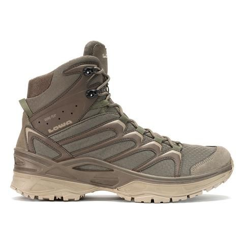 Fly away on these LOWA Zephyr GTX Mid TF Beige/Brown stompers. Meet thebest sellingZephyr designed for warm arid weather hiking. Since then SOCOM adopted this
