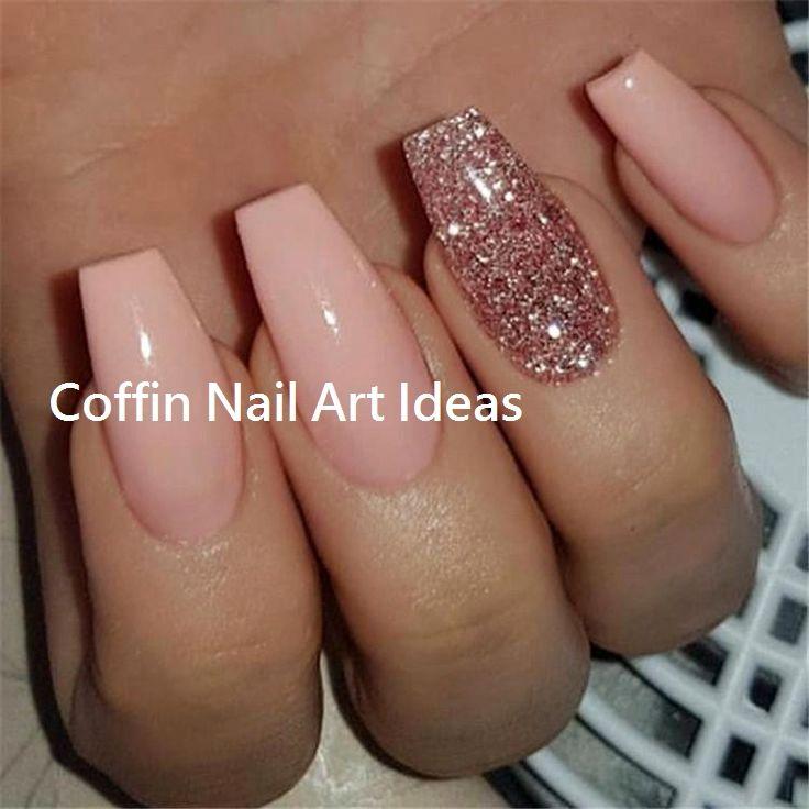 20 Trendy Coffin Nail Art Designs Nailartideas Naildesign Ballerina Nails Designs Acrylic Nail Shapes Ballerina Nails